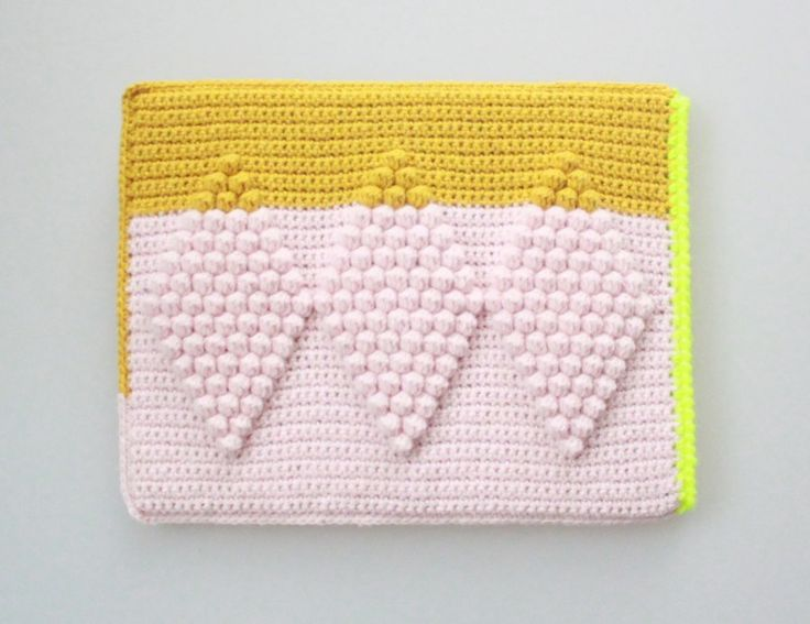 Crochet Ipad sleeve by Lutter Idyl                                                                                                                                                     More