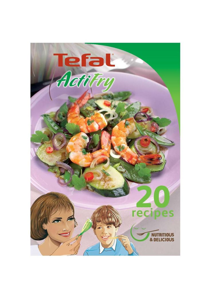 ActiFry kuchařka Tefal FZ 300030 • Zboží.cz