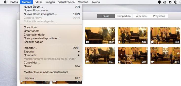 Cómo recuperar fotos borradas en la aplicación Fotos para OS X...