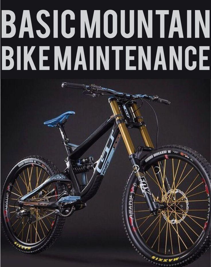 Basic Mountain Bike Maintenance