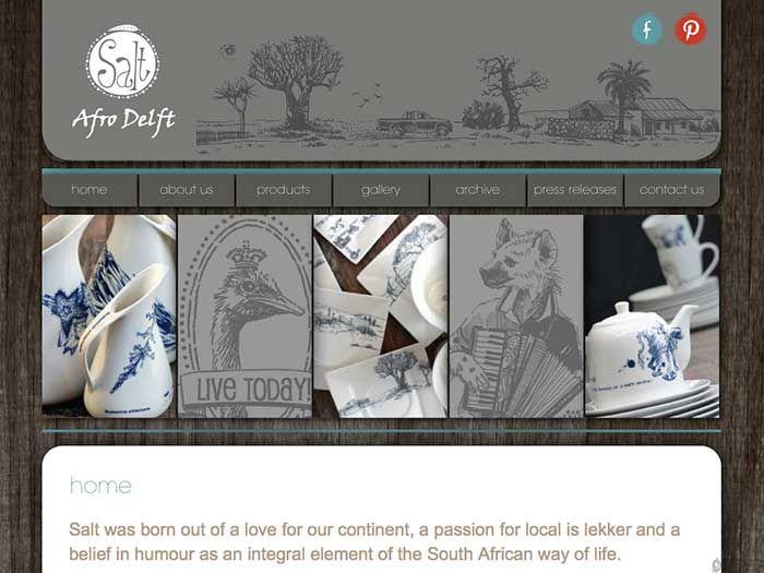 Salt Afrodelft Website