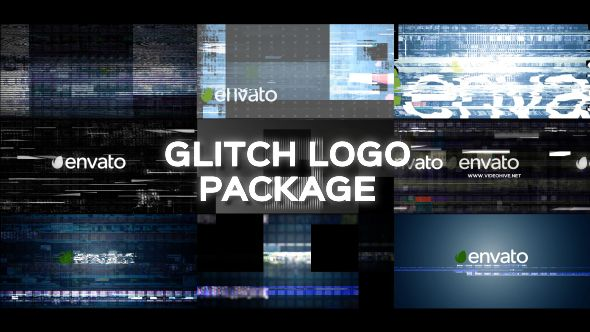 Glitch Logo Pack 19643456 Videohive - Free Download After