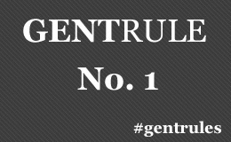 """Rule No. 1: A gentleman says """"please"""" and """"thank you,"""" often."""