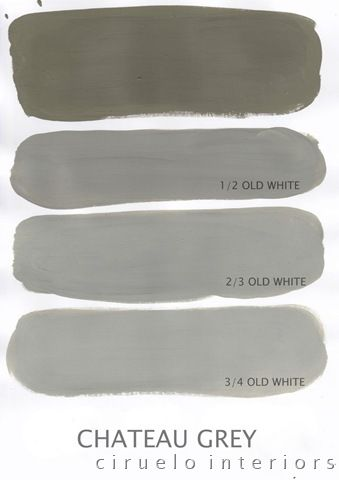 CHATEAU GREYAnniesloan, Colours Range, Sloan Chalk, Chateaus, Grey Og, Painting Lovers, Annie Sloan Chateau Grey, Painting Colors, Chalk Painting