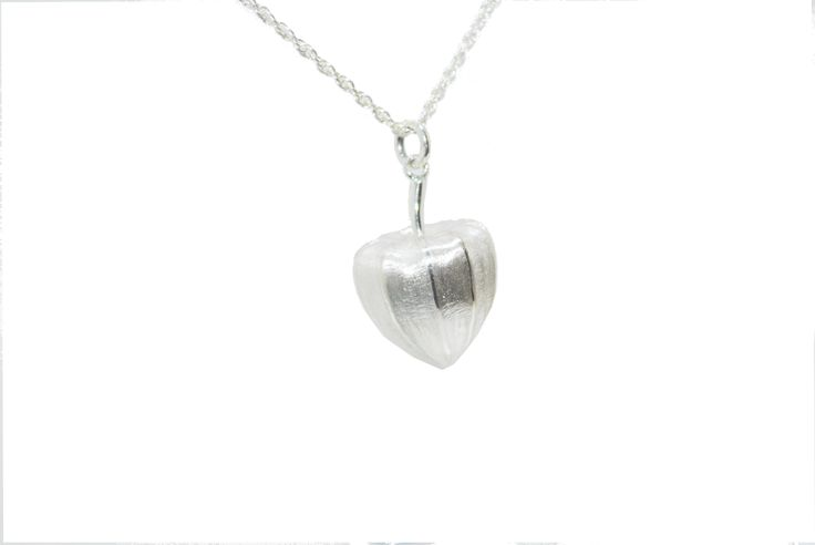 A sterling silver Chinese lantern pendant #silver #contemporary #boutique #London  #designer #jewellery  #NudeJewellery
