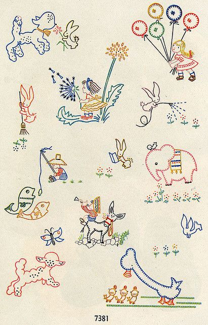 pretty children's designs