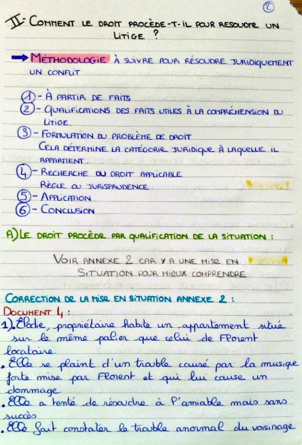 Page 2 5 Correction Document 4 De L Annexe 2 Cours De Droit Fac De Droit Cours Droit