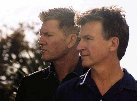Tim & Neil Finn - Split Enz/Crowded House/Solo artists & Kiwi brothers.