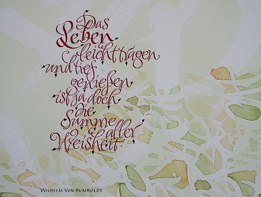 Kalligrafie raumgestaltung farbdesign atelier propfe for Raumgestaltung johnen