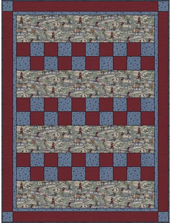 Easy Quilt With Three Fabrics : 13 best images about Crafts: Fabric: 3 Yard Quilts on Pinterest Fat quarters, Baby bows and Quilt