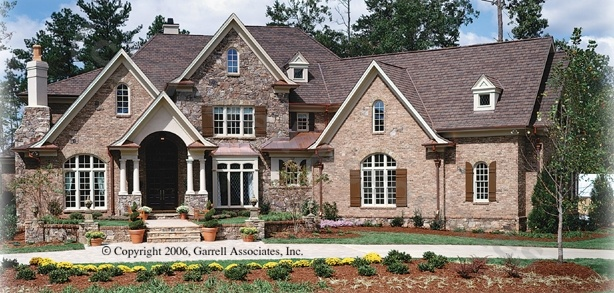 Avalon Manor House Plan 05319 Front Elevation Normandy