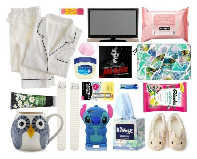 """""""Those sick Days - My sick day essentials"""" by anushajean13 ❤ liked on Polyvore featuring moda, J.Crew, Forever 21, Accessorize, Sur La Table, Neutrogena, Casetify, Chapstick, Therapy y Nest Fragrances"""