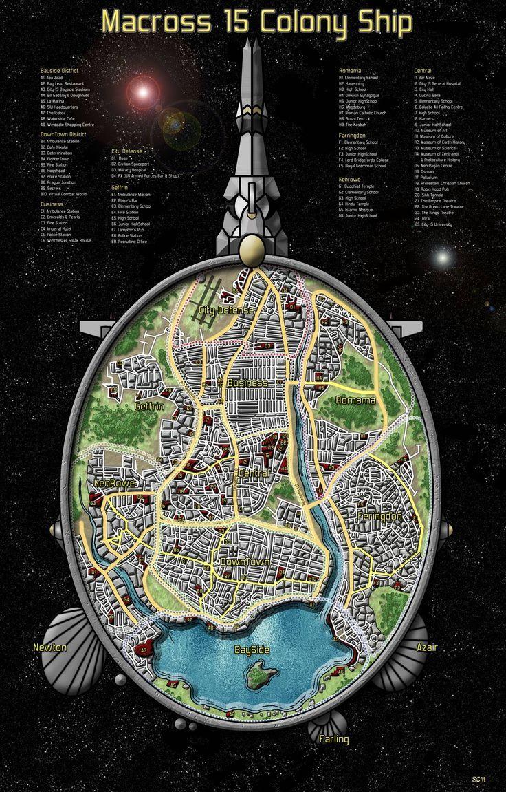 Starship Deck Plan Creator