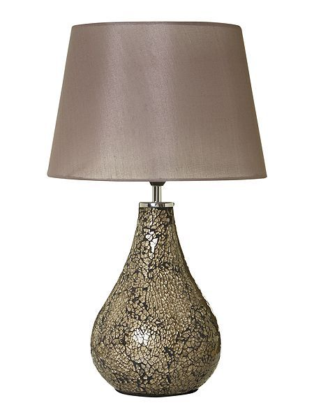 Zara mocha table lamp