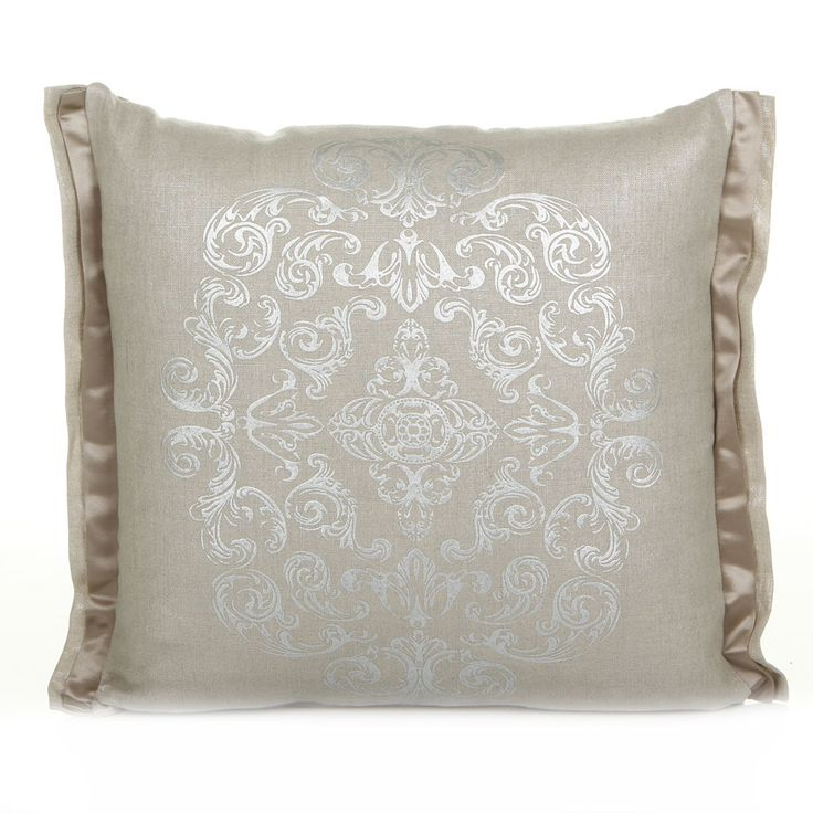 Osborne & Little - Zecca Neutral Cushion - 45x45cm