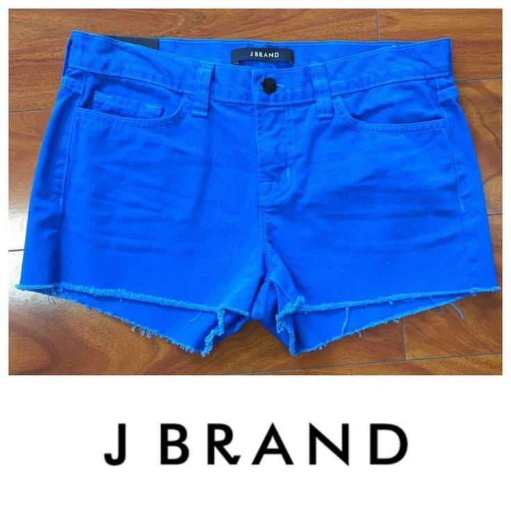 J BRAND Cut Off Low Cut Blue Shorts.