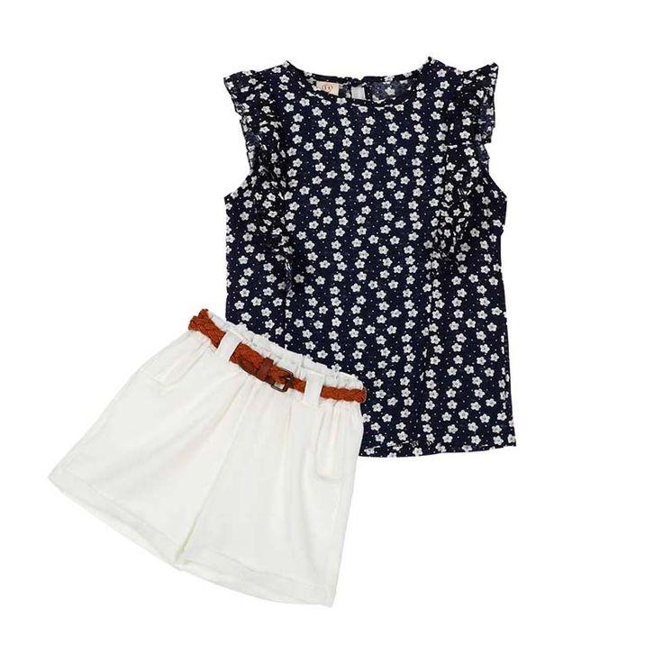 $4.60 (Buy here: https://alitems.com/g/1e8d114494ebda23ff8b16525dc3e8/?i=5&ulp=https%3A%2F%2Fwww.aliexpress.com%2Fitem%2FSummer-Casual-Girls-Clothes-Sets-Sleeveless-Print-T-shirt-Short-Pants-Children-Suits-for-Kids%2F32797990428.html ) Summer Casual Girls Clothes Sets Sleeveless Print T-shirt + Short Pants Children Suits for Kids for just $4.60