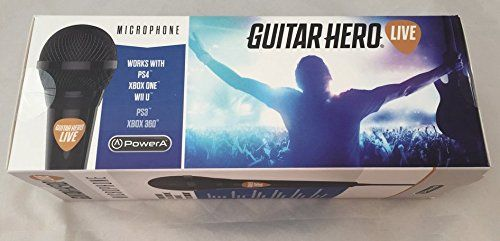 Official Activision Guitar Hero Live Microphone - Xbox One, Xbox 360, PS4, PS3, Wii U