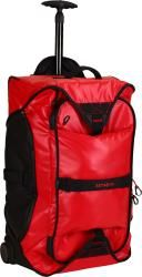 Ryanair size samsononite paradiver cabin bag/backpack/trolley case on wheels now available in red.