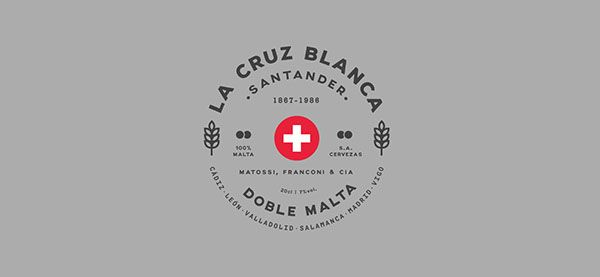 La Cruz Blanca, rediseño on Behance