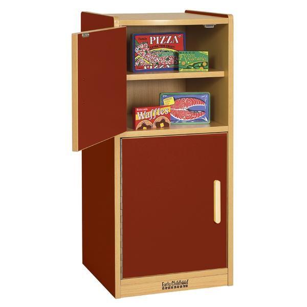 Colorful Essentials Play Kitchen - Refrigerator at SCHOOLSin