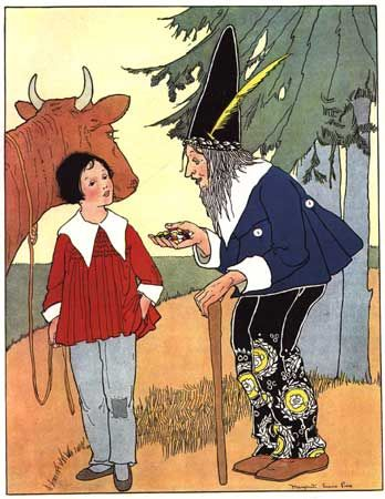 """Jack and the Beanstalk"" is discussed in my book ""Breaking the Mother Goose Code*."