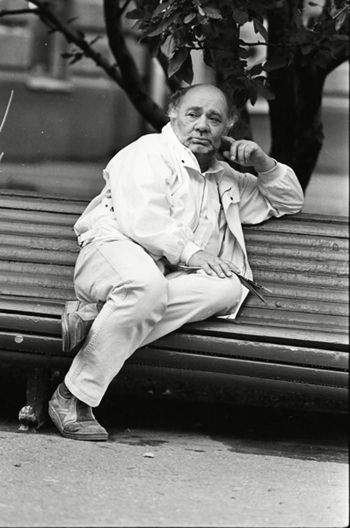Актёр театра и кино, народный артист СССР Евгений Леонов, 1980–е годы, СССР – Фотографии изпрошлого