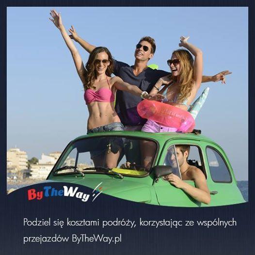 ByTheWay.pl to platforma łącząca kierowców z pasażerami, dzięki korzystaniu ze wspólnych przejazdów zminimalizujesz koszty podróży. Wkrótce ruszamy, ZAPRASZAMY!