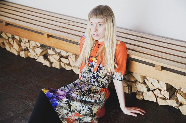 Floral Tea Dress by Blame