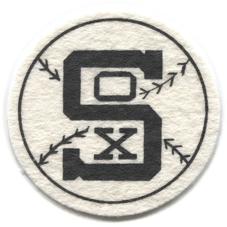 "1954 Chicago White Sox MLB Baseball Best and Co Vintage 2 5"" Team Logo Patch 