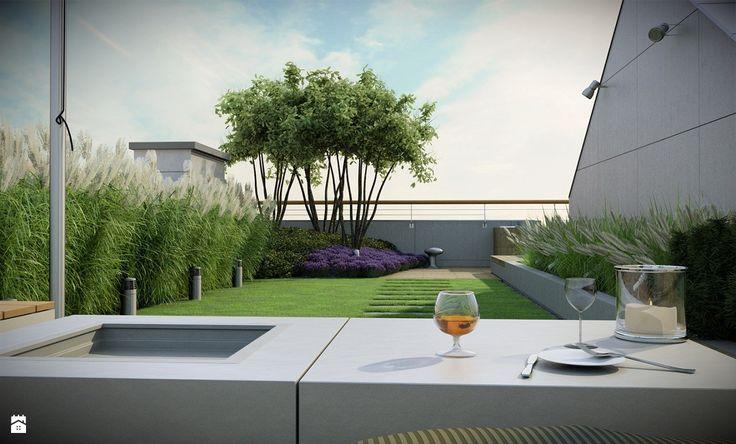 Ogród na dachu - zdjęcie od EMSIDE Architektura Krajobrazu - Ogród - Styl Minimalistyczny - EMSIDE Architektura Krajobrazu