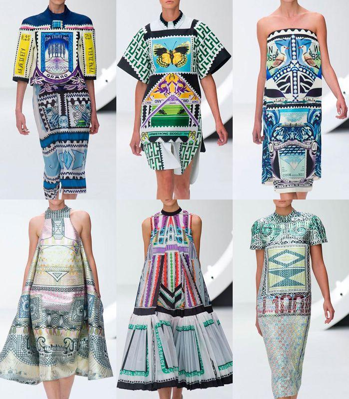 London Fashion Week   Spring/Summer 2013   Print Trend Highlights   Part 1 | catwalks