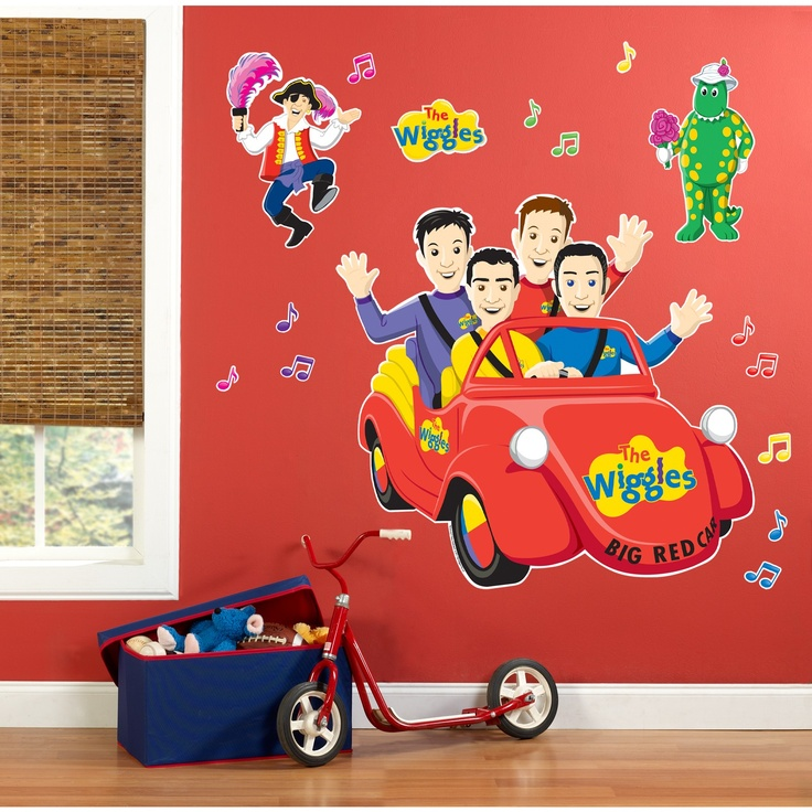The Wiggles Wall Decor Decals