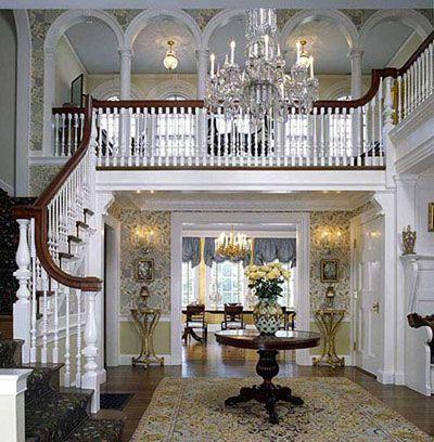 Colonial Revival Litchfield Ct Interior Design Town