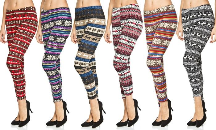 Know The Versatility of Printed Leggings. Printed leggings are perfect pick for those who love to add streak of latest fashion to their dull and boring traditional wardrobe. Giving you the freedom to express your style statement even in your ethnic looks