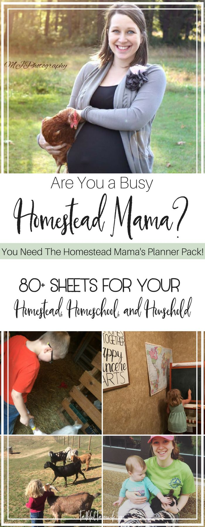 Homestead Mama's Planning Pack