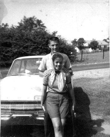 Phil and Kay Robertson from their high school days