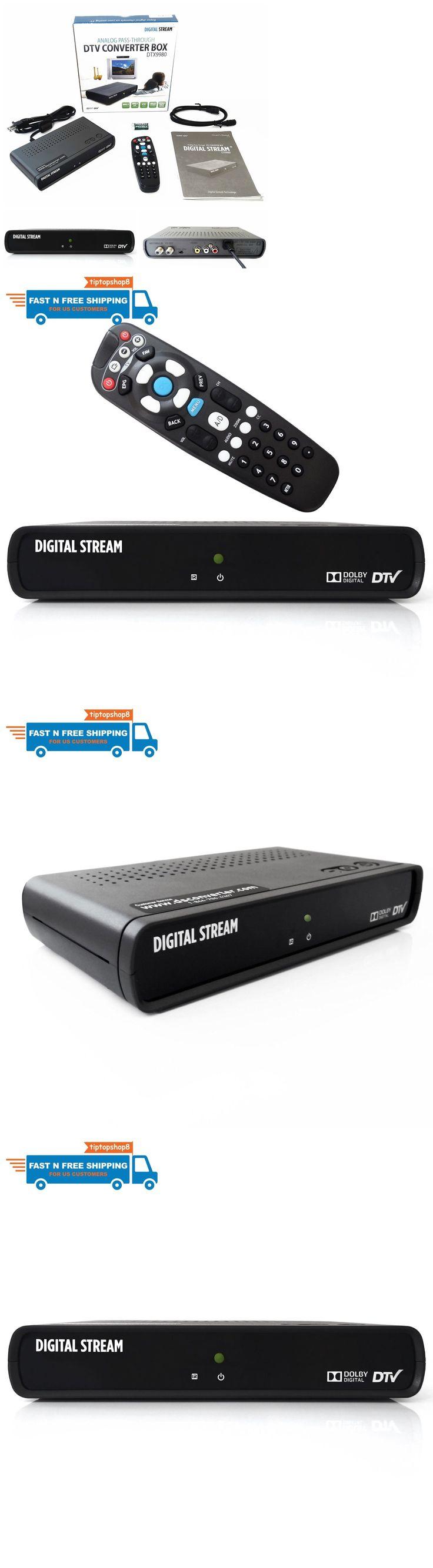 Cable TV Boxes: New Digital Tv Converter Box Homeworx Hd Dvr Media Player Recorder Atsc Hdmi Pvr -> BUY IT NOW ONLY: $37.97 on eBay!