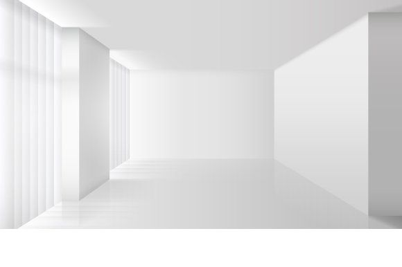 Empty Vector White Interior Empty Rooms Interior Empty Room