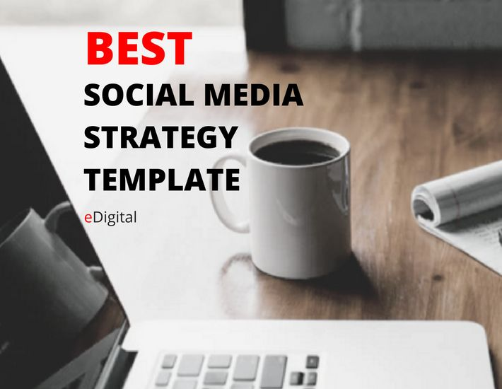 best social media strategy template