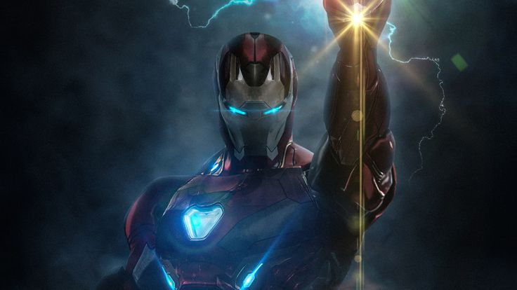 The Avengers Avengers Endgame Iron Man 1080p Wallpaper