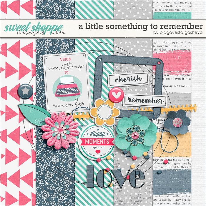 Quality DigiScrap Freebies: A Little Something to Remember mini kit freebie from Blagovesta Gosheva
