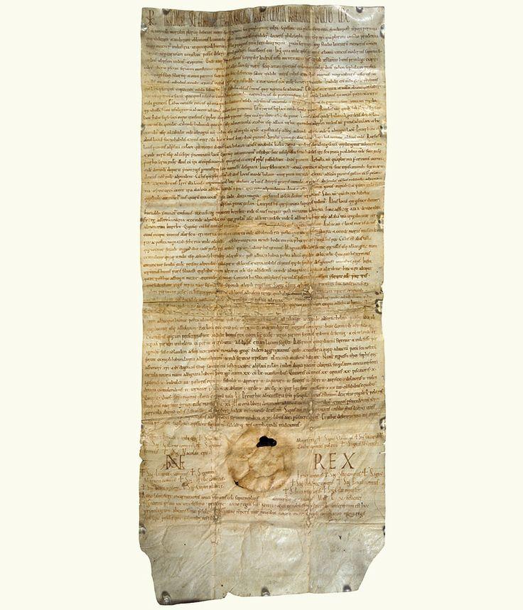 A tihanyi apátság alapítólevele 1055 / The founding declaration of the Benedictine Abbey of Tihany (Hungary), 1055,