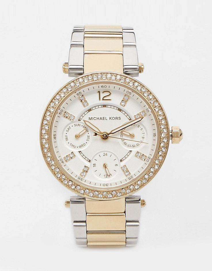 Image 1 of Michael Kors MK6055 Silver Parker Watch