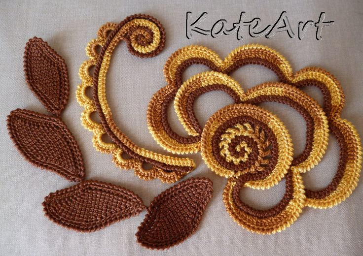 My irishe crochet
