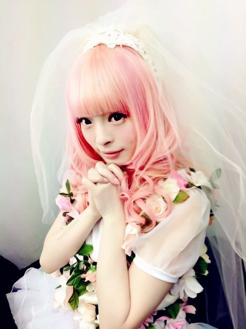 I love her hair!!! Kyary Pamyu Pamyu | via Tumblr