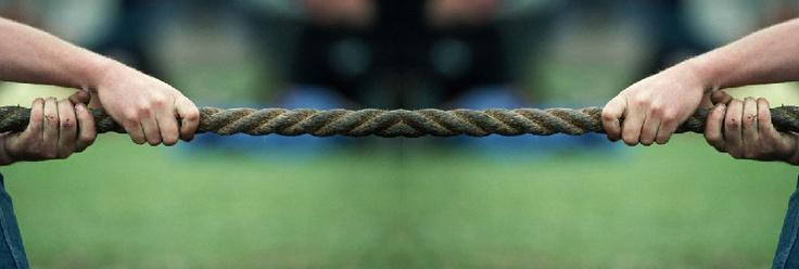 Pour les défis: Tir à la corde !