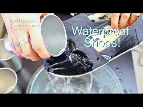 How To Make Your Shoes Waterproof? Easy And Quick Way To Waterproof Toms etc By using a candle and a hairdryer.