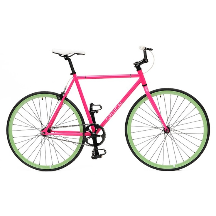 Pink Frame + Celeste Wheels (to go with the bike i'd get for the bf) CRITICAL CYCLES: $219!