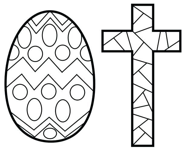 Cross Coloring Pages Printable Stained Stunning Crosses For Adults Free Easter